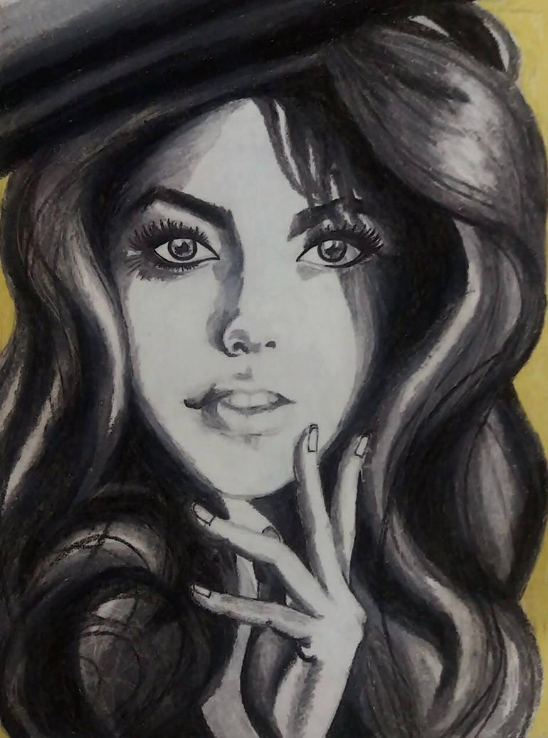 The artist by Refaya