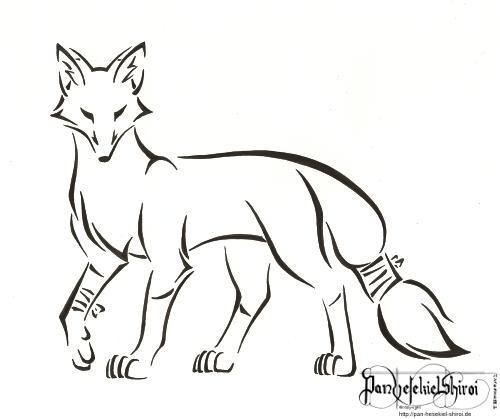 Limping fox by PanHesekielShiroi
