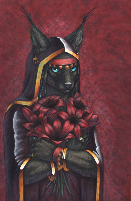 Black Lilies by PanHesekielShiroi