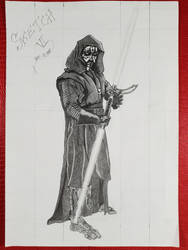 Dark Maul/Star Wars/Request/Sketch VI by Vila78