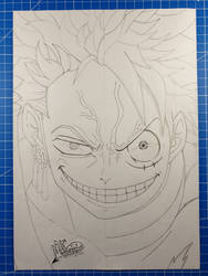 Roronoa-Luffy /One Piece WIP by Vila78