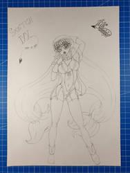 Gluko/Mon Colle Knights/Request/Sketch IXX by Vila78