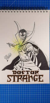 Doctor Strange/Day 8/Marveltober/Inktober 2019