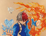 Shoto Todoroki / My Hero Academia /Fan Art