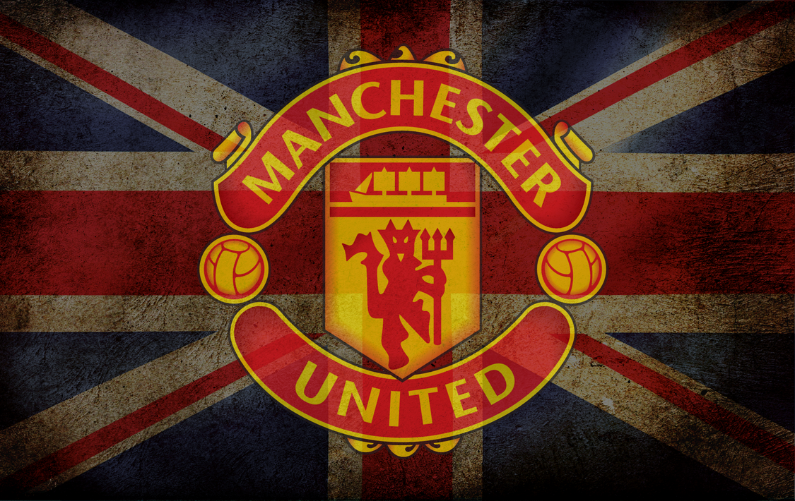 Manchester united logo on flag by himfin93 on deviantart manchester united logo on flag by himfin93 voltagebd Images
