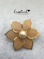 Jewelry Stock 11 - Flower Brooch by krisstock