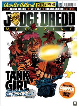 TANK GIRL - Judge Gredd Megazine 283 cover