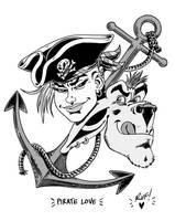 Tank Girl - More Pirate Love...