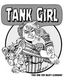 TANK GIRL - Rosie the Riveter