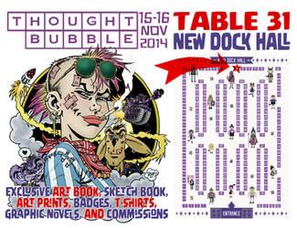 Thought Bubble Comics Festival 15-16 Nov. 2014