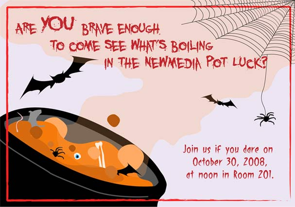 Halloween Potluck By Sky Waves On Deviantart