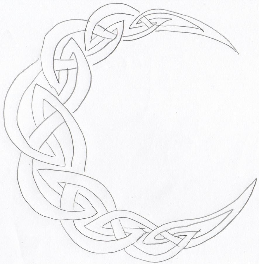 Celtic moon by Flintar on DeviantArt