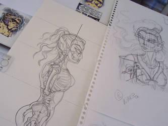Huntress SkyFire, ELFQUEST 4 by Tah-Marien