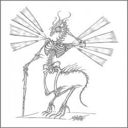 Steampunk Dragon Bones