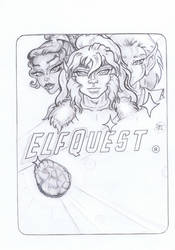 Fan Mash  ElfQuest-Star Trek  Happy 50th ! by Tah-Marien