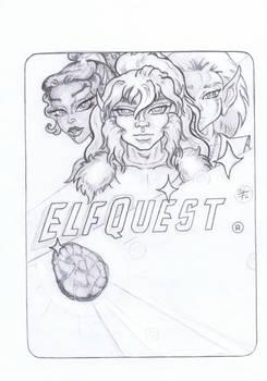 Fan Mash  ElfQuest-Star Trek  Happy 50th !