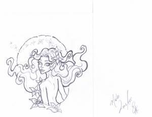 Commission OC/ElfQuest  Embala  Line Art