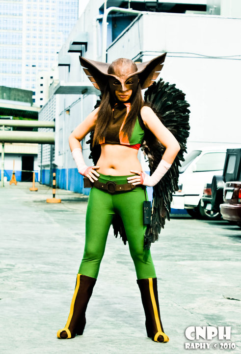 Hawkgirl by izabelcortez