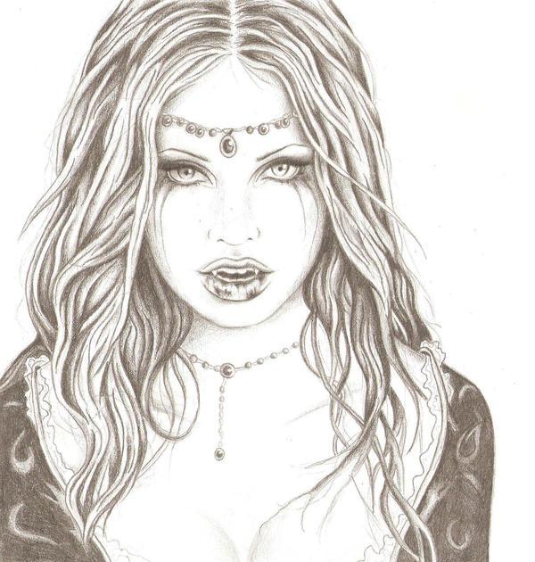 vampire girl by littlepip on deviantart