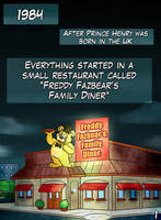 Collab - FNAF Comic Page 01 by JulieKarbon