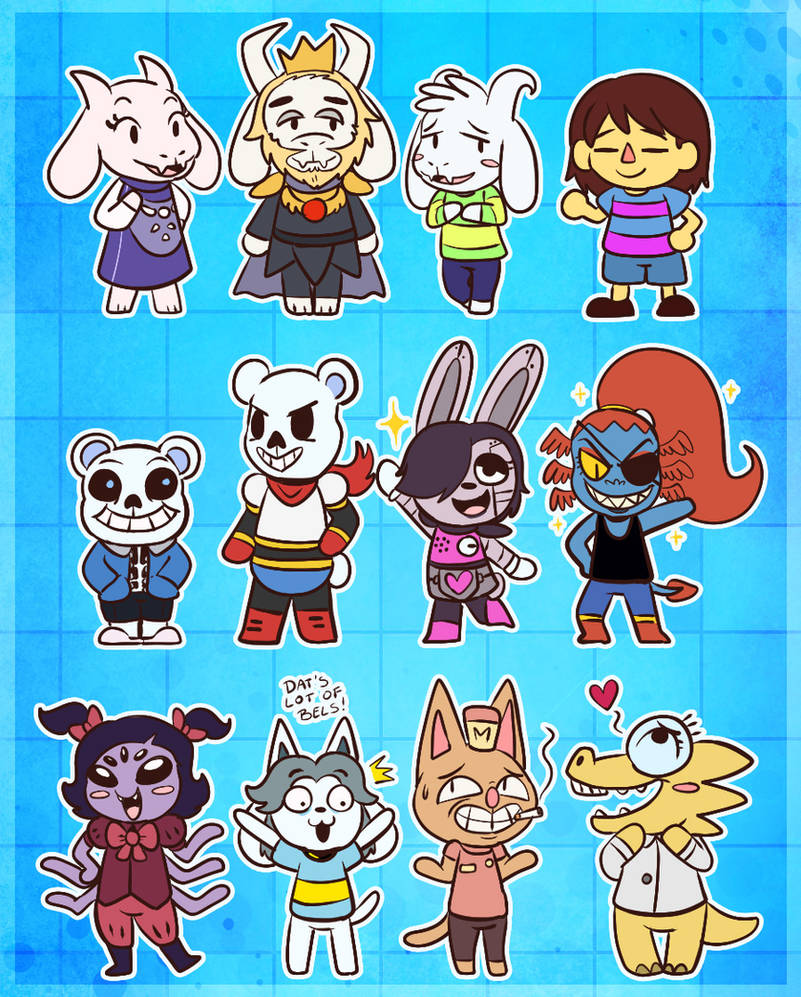 Undertale Villagers