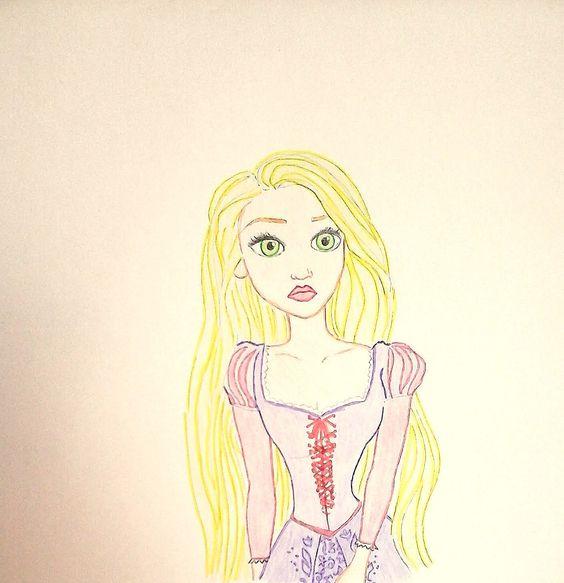 Raiponce by princessesihamkhallo