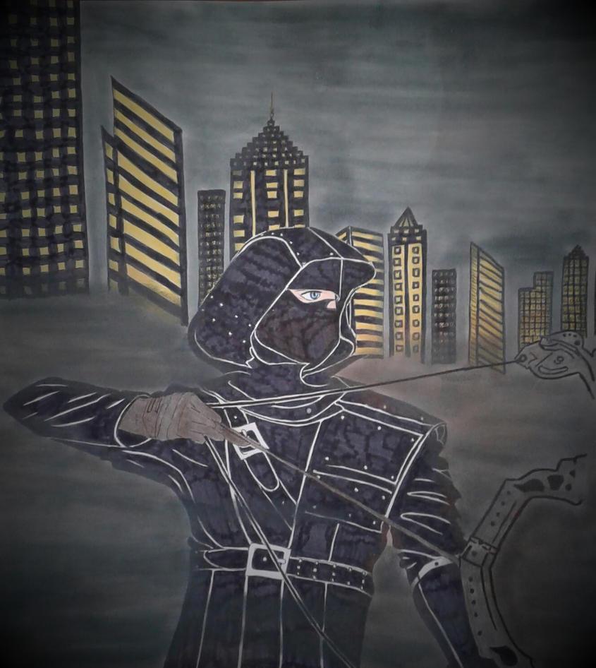 Arrow - The Dark Archer by princessesihamkhallo
