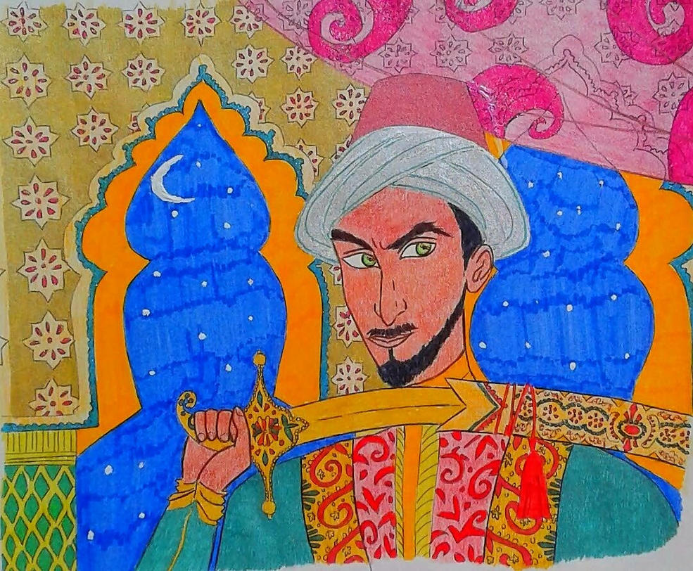 Sultan of the Thousand and One Nights by princessesihamkhallo