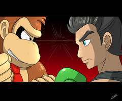 Donkey Kong VS Little Mac