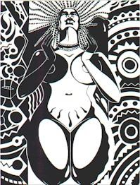 Nubian Goddess by moorienz