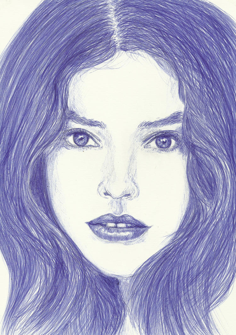 Elizabeth - ball point - by Jenniej92