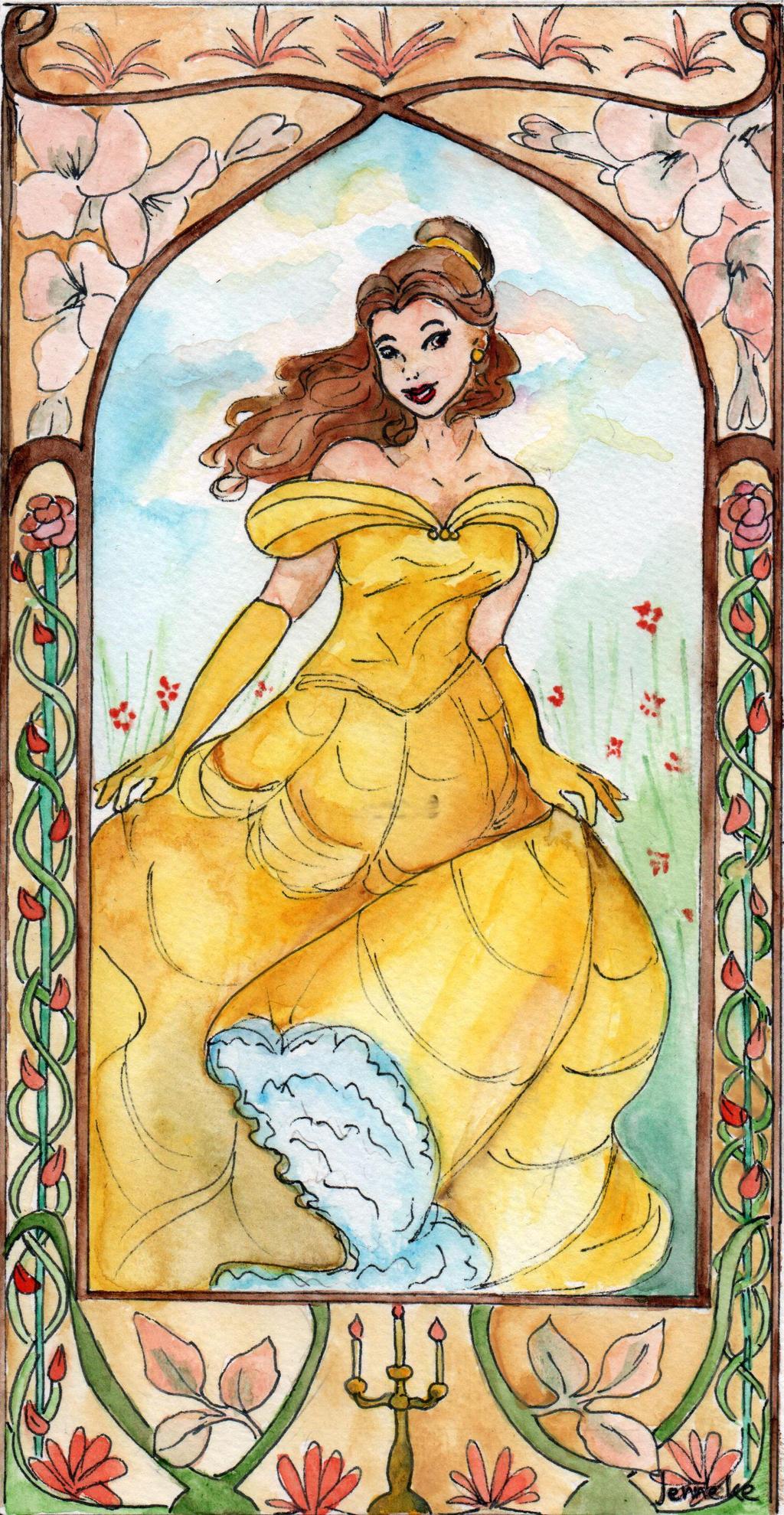 Disney- Belle by Jenniej92