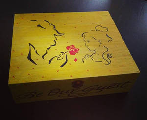 Beauty and the Beast Teabox