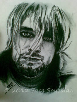 Portrait of Kurt Cobain