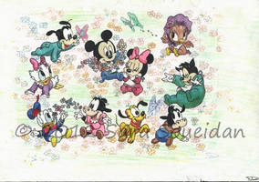 Disney Characters by EmYoussif