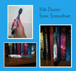 10th Doctor Sonic Screwdriver by Alwaysnmyheart