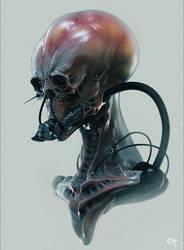 Morbid Alien by chalian54