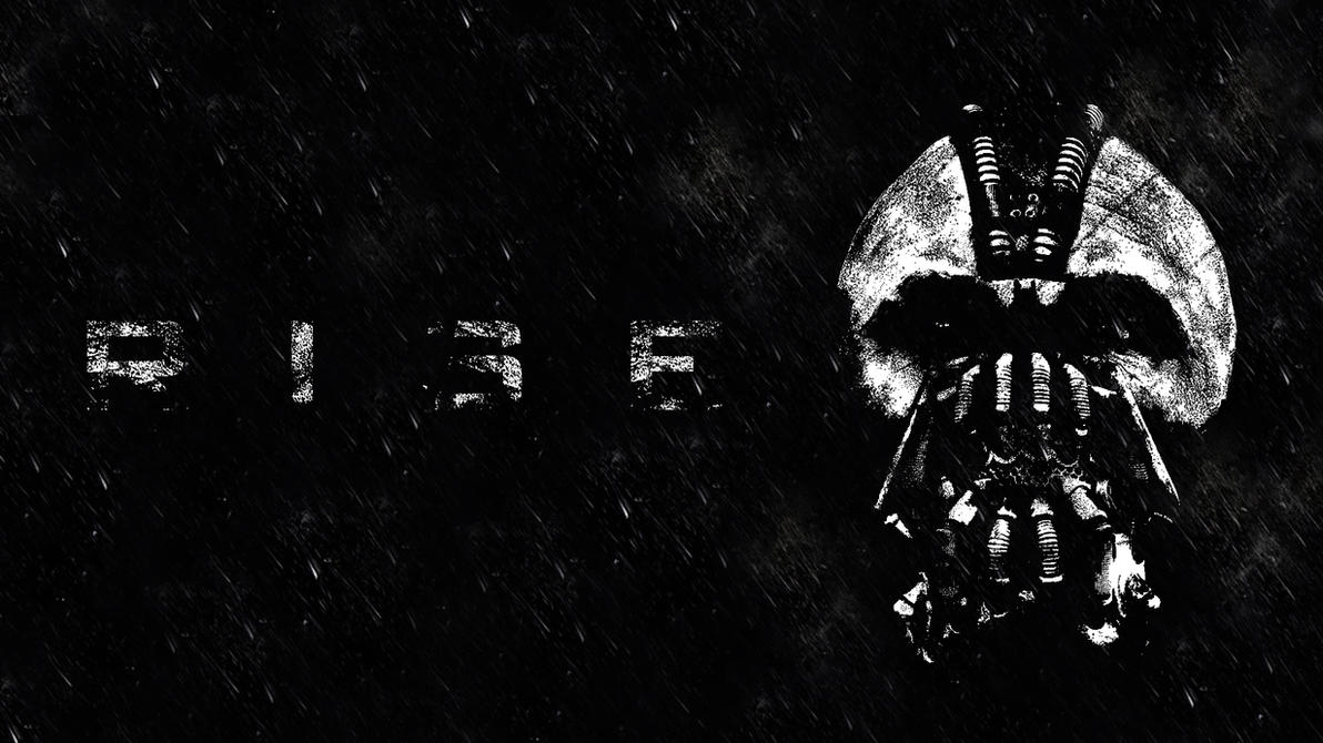 The Dark Knight Rises Bane Wallpaper By PKwithVengeance