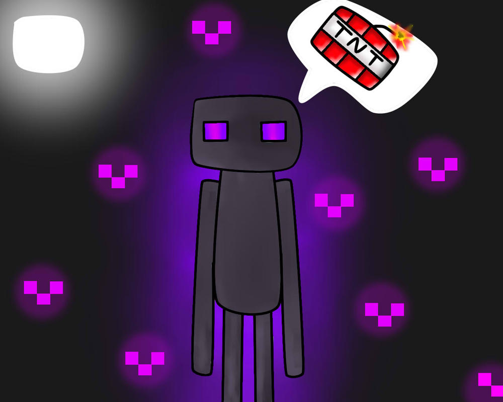 MINECRAFT ENDERMAN by vinnyolivers
