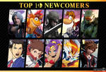 Top 10 Most Wanted Smash Bros Newcomers: Edited