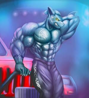 Muscle Cybershark