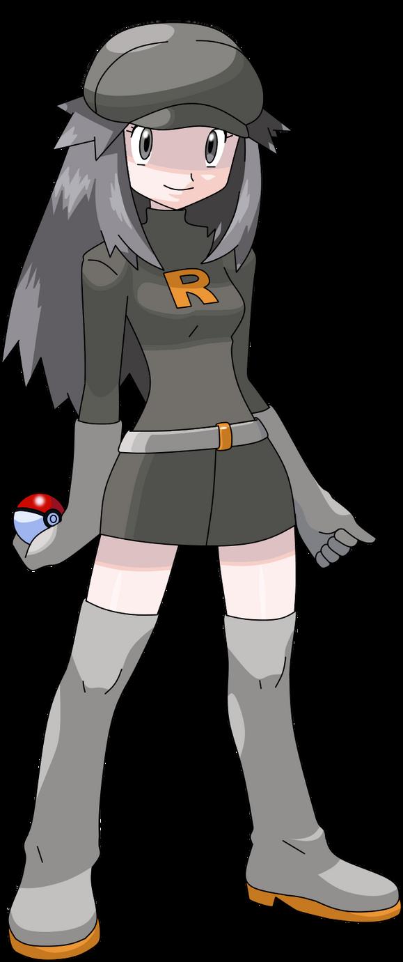 Leaf Team Rocket Outfit By Morki95 On Deviantart