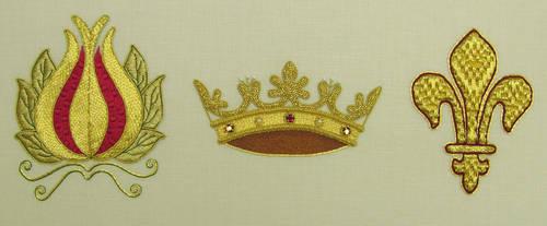 Goldwork Symbols by laurelin77