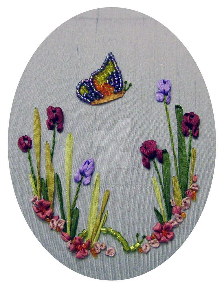 Silk ribbon embroidery kit by laurelin on deviantart