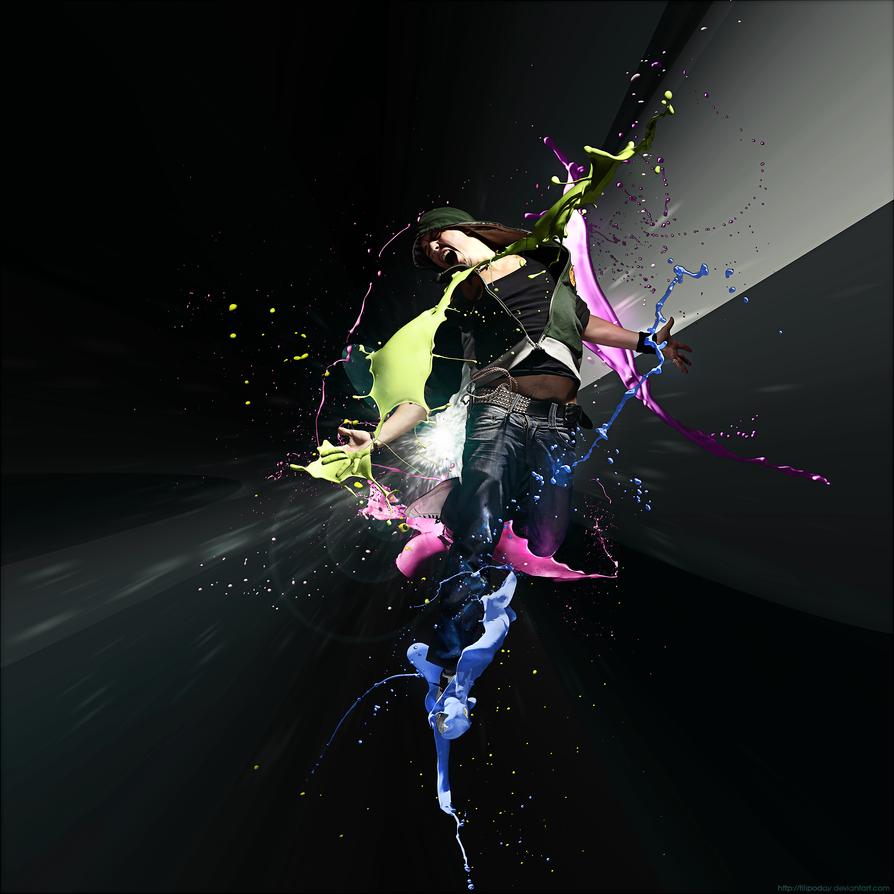 Splatter Colors by Filipoday