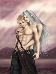 YAOI Sephiroth x Cloud by Minjanna