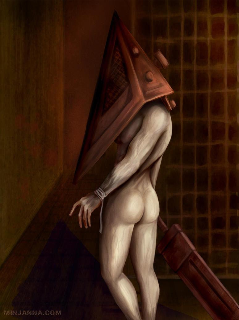 Nude Pyramid Head by Minjanna