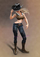 Cowgirl by PixelPirate