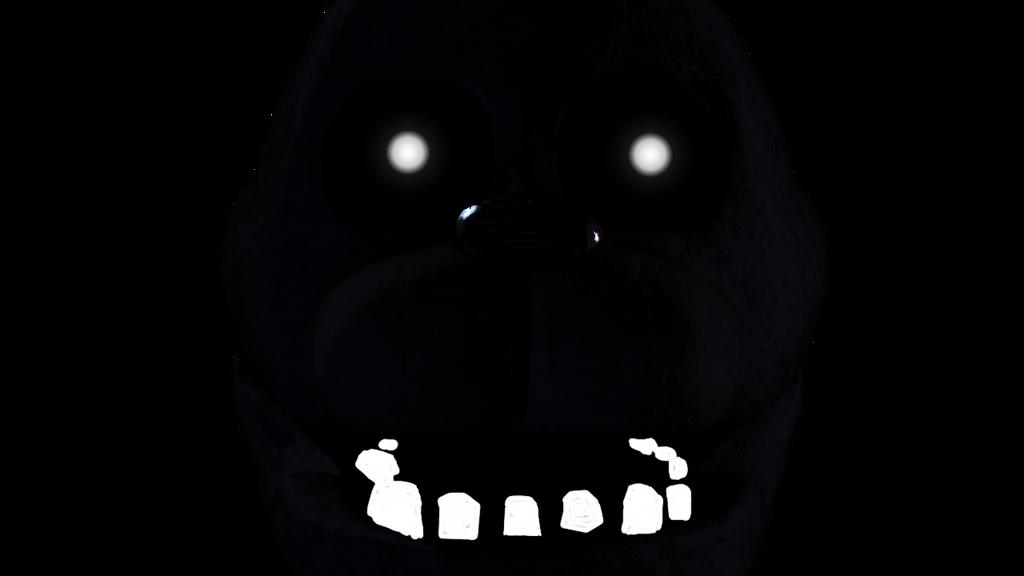 Shadow bonnie fnaf 1 death screen by thomasthehedgehog888 on