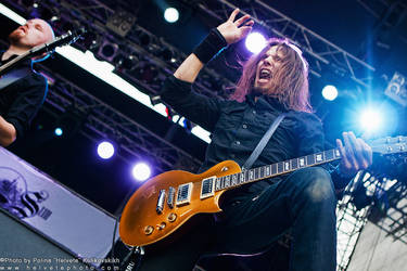 Swallow The Sun at Brutal Assault 2012 by helvetephoto